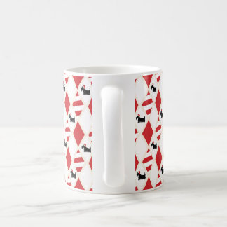 Scottie Dog Christmas Pattern Coffee Mug