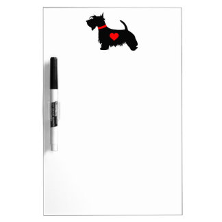 Scottie Dog Dry Erase Board
