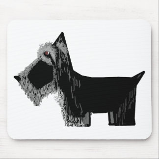 Scottie Dog Mouse Pad