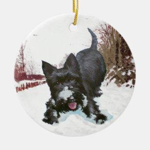 scottie dog ornament - Scottie Dog Christmas Decorations