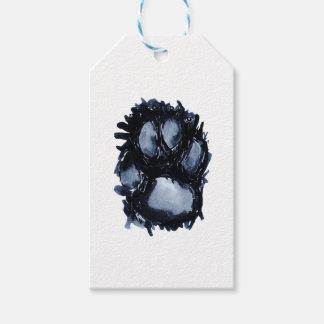 Scottie Dog Paw Gift Tags