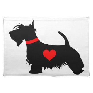 Scottie Dog Placemat