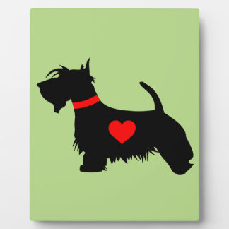 Scottie Dog Plaque