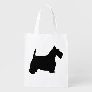 Scottie Dog Reusable Grocery Bag