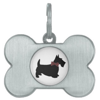 Scottie Dog Tag Pet Tag