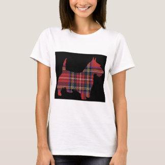 Scottie Dog Tartan T-Shirt