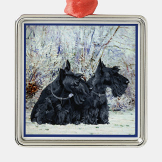 Scottie Dogs Ornament