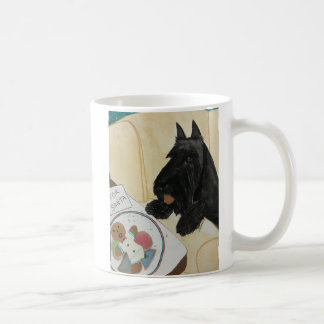 Scottie Hungry Waiting for Santa Coffee Mug
