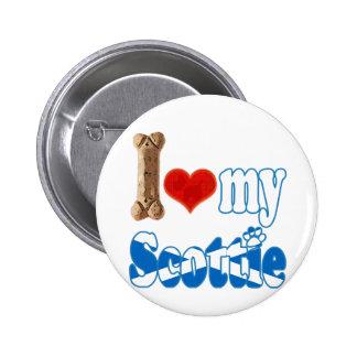 Scottie I love my Scottie Button