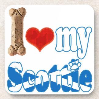 Scottie I love my Scottie Coaster