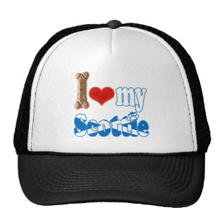 Scottie I love my Scottie Hats