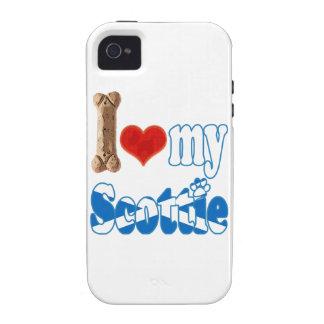 Scottie I love my Scottie iPhone 4/4S Covers