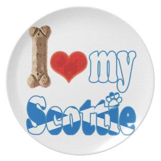 Scottie I love my Scottie Plate