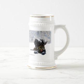 Scottie in the Snow Mug