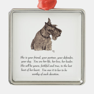 Scottie Keepsake Ornament