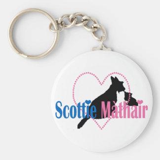 Scottie Mom Key Chains
