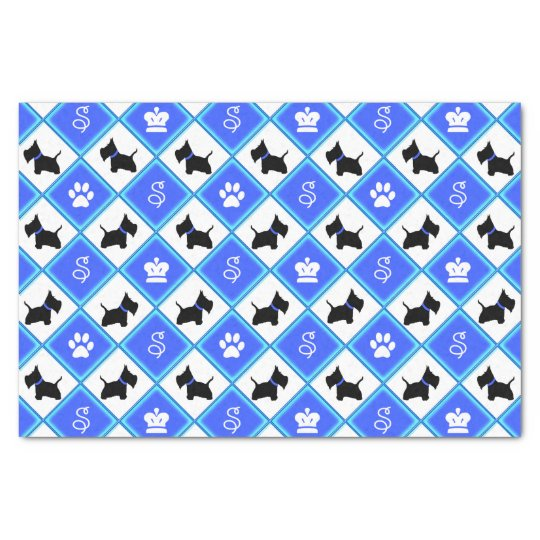 Scottie No 8 Tissue Paper