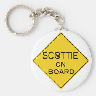 Scottie On Board Key Chains