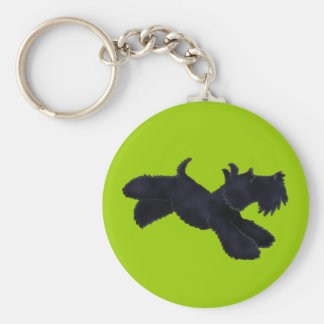 Scottie Run Keychain