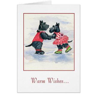 Scottie Skating Duo Card