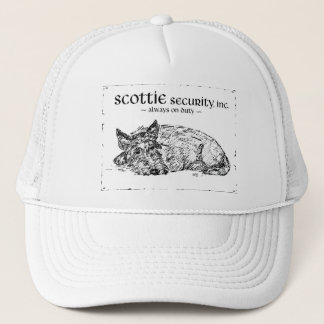 Scottie Sketch - Security? Trucker Hat