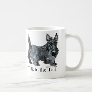 Scottie Talk to the Tail Coffee Mug