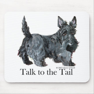 Scottie Talk to the Tail Mouse Mat