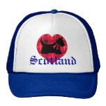 Scottie & Tartan Heart Hat