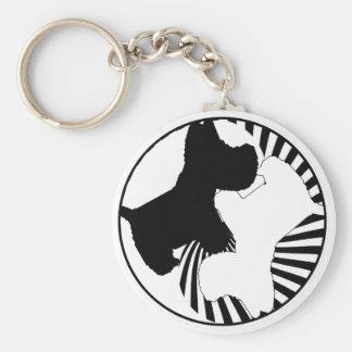 Scottie Westie Key Chain