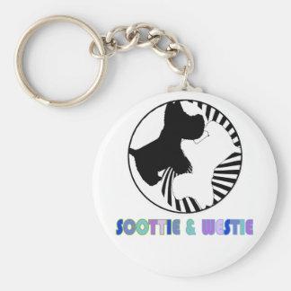 Scottie Westie Keychains