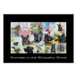 Scotties in the Whippety Wood Poster