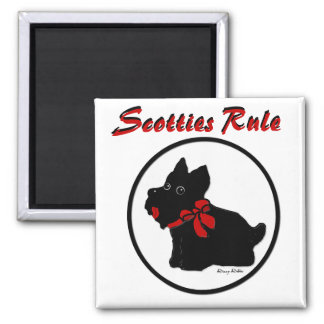 Scotties Rule Magnet