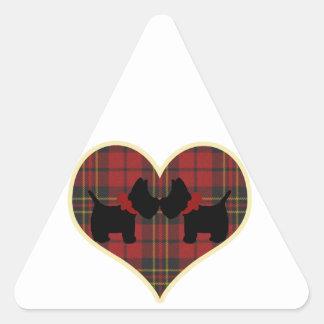 Scotties Triangle Sticker