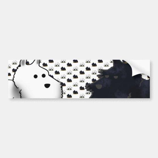 Scotties & Westies... Bumper Sticker