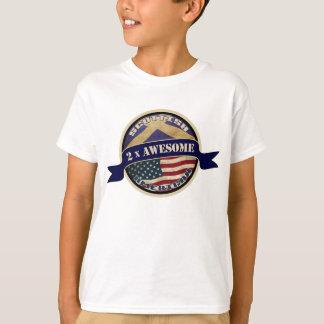Scottish American Children's T-Shirt