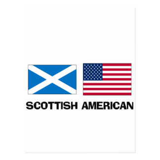 Scottish American Postcard