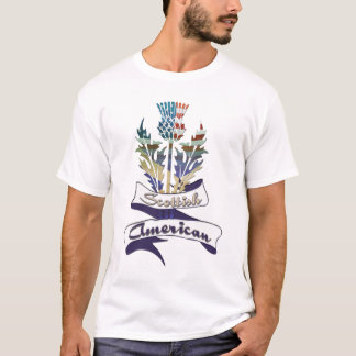 Scottish American Thistle Men's T-Shirts