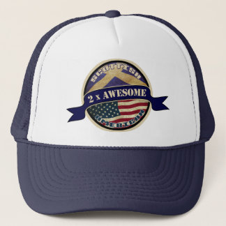 Scottish American Trucker Hat