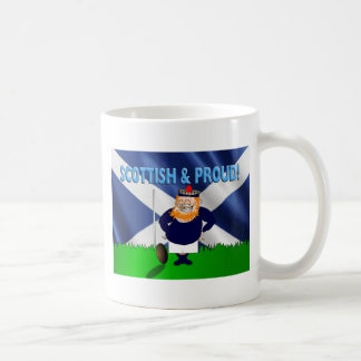 Scottish and Proud Rugby Mug