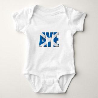 Scottish Aye Baby Bodysuit
