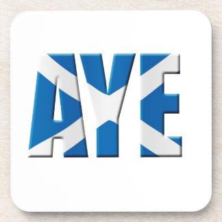 Scottish Aye Coaster