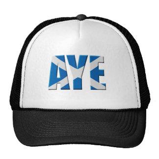 Scottish Aye Mesh Hats