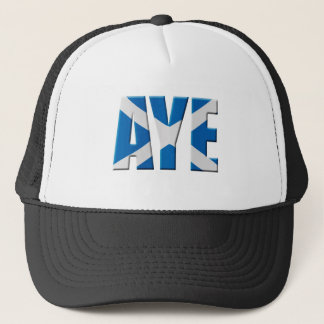 Scottish Aye Trucker Hat