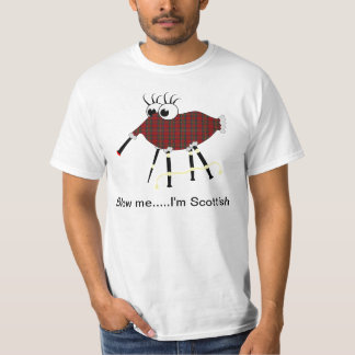Scottish Bagpipes Humorous Vector T-Shirt
