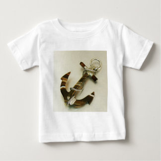 Scottish Banded Agate Anchor Tee Shirt