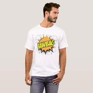 "SCOTTISH BANTER COMIC BOOK STYLE ""BAWBAG T-SHIRT"