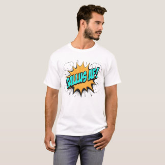 "SCOTTISH BANTER COMIC BOOK STYLE ""GALLUS AF TEE"