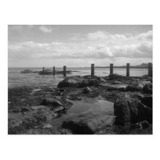 Scottish beach postcard