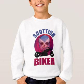Scottish Biker Skull Chop Sweatshirt