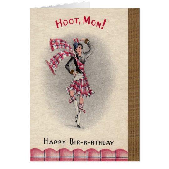 Scottish Birthday Card